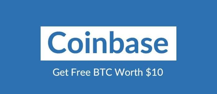 CoinBase - Get $10 free
