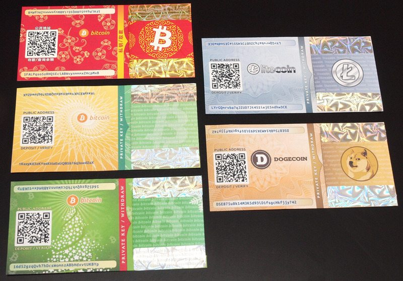 paperwallet bitcoin