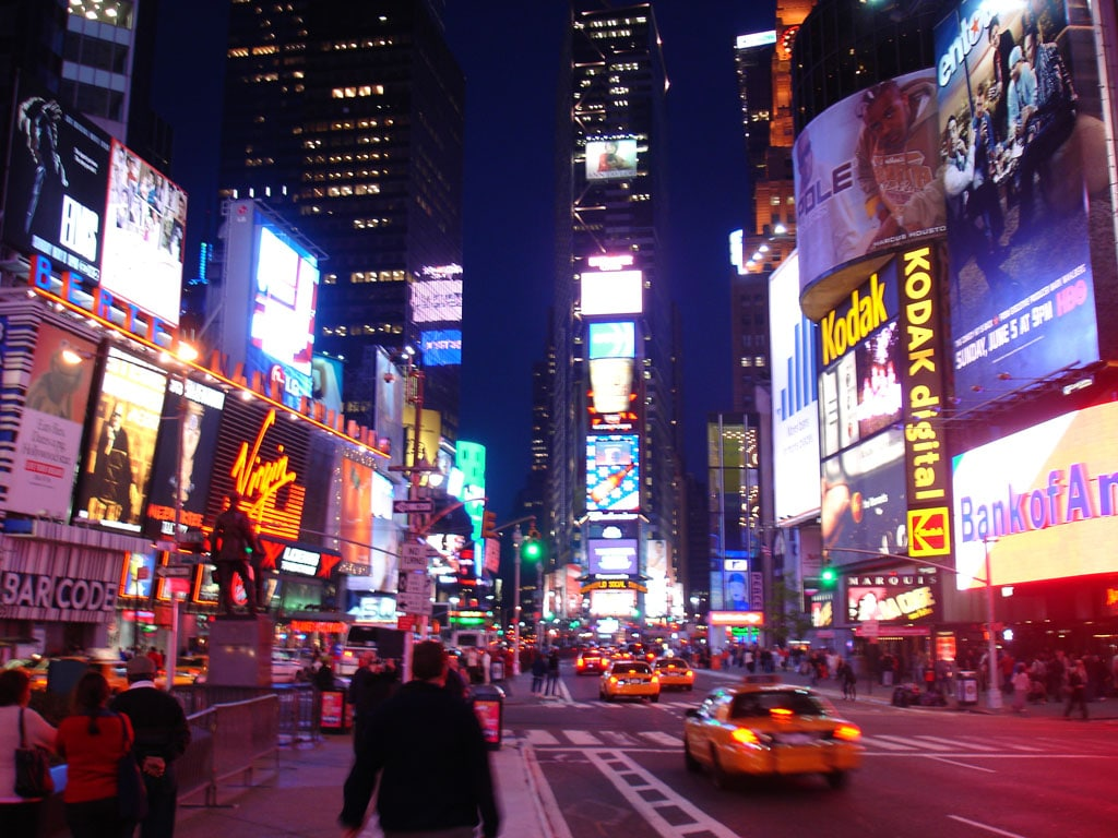 New York - #3rd Best Nightlife cities
