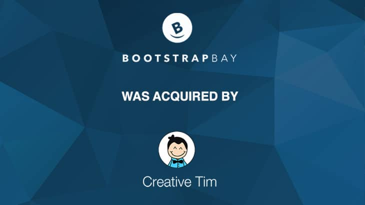 BoostrapBay acquired by CreativeTim