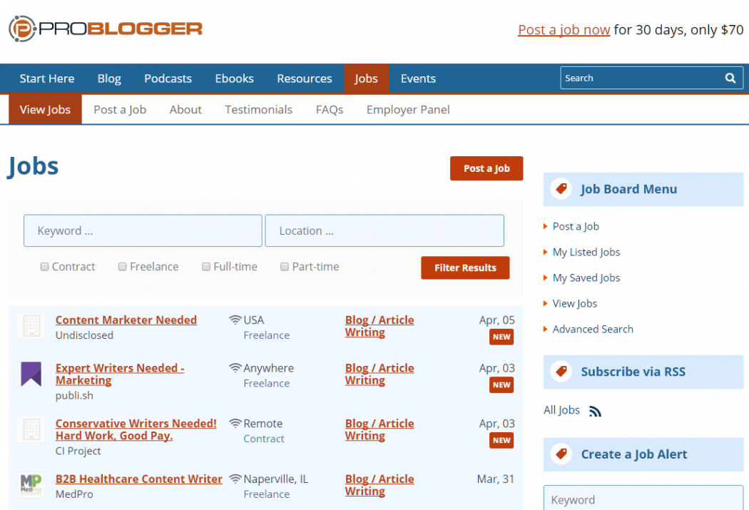 How to start a forum like ProBlogger Jobs