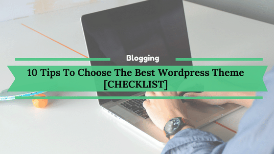 10 Tips To Choose The Best WordPress Theme [CHECKLIST]