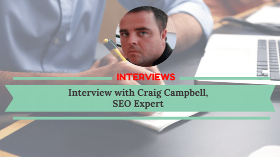 Interview Post Example: Interview with Craig Campbell
