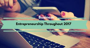 Entrepreneurship Throughout 2017