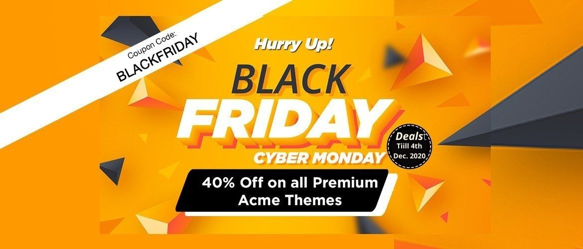 Acme Themes – 40% Discount deal