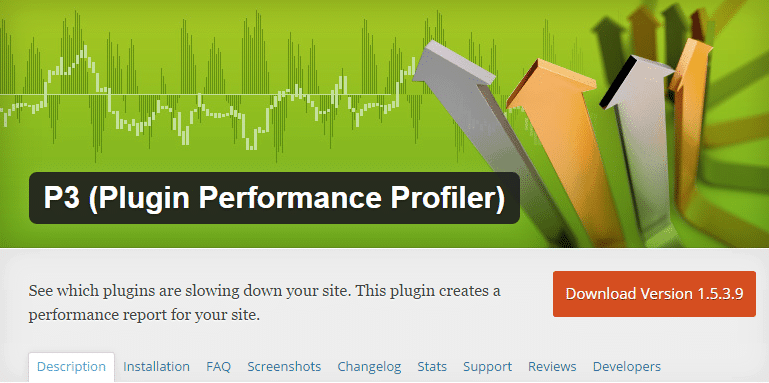 Plugin Performance Profiler WordPress Plugins