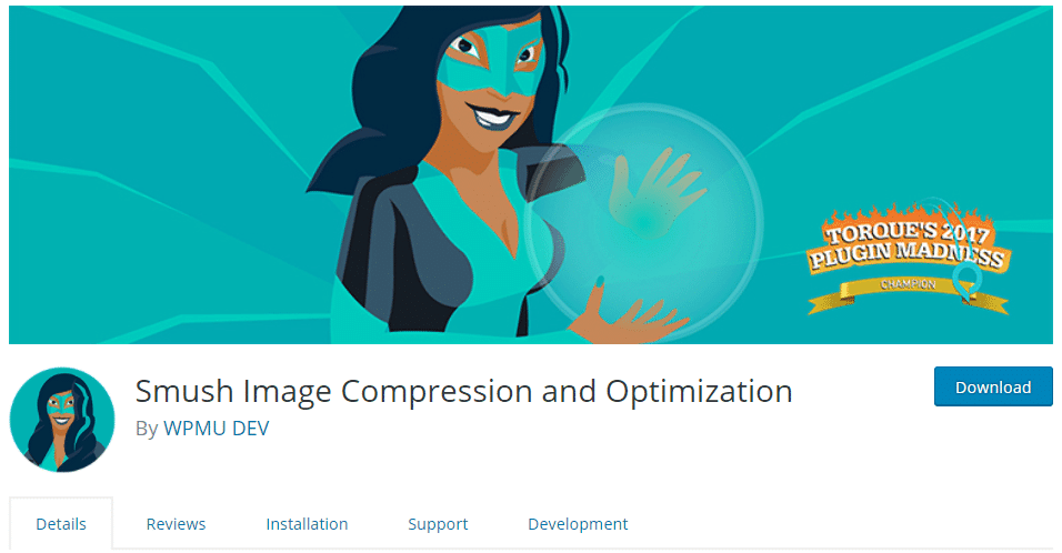 Smush Image Compression and Optimization WordPress Plugins