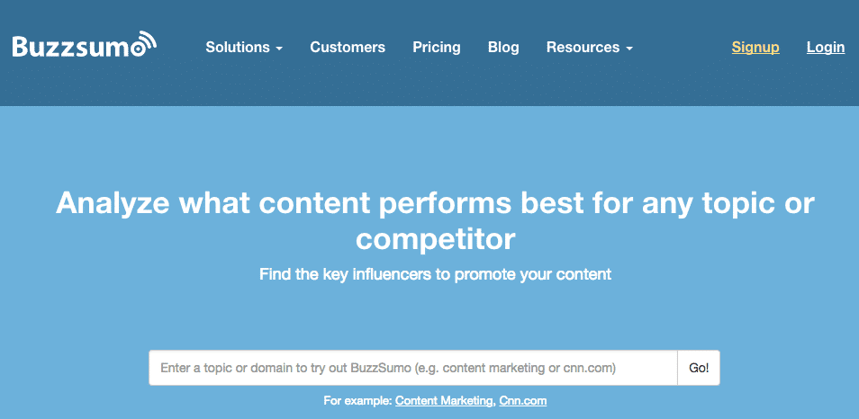 BuzzSumo – Up to 40% discount