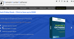 Domain Hunter Gatherer discount code