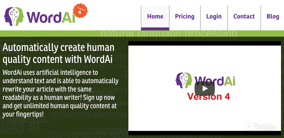 WordAI – 42% discount