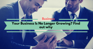 Your Business Is No Longer Growing? Find out why