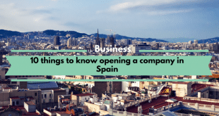 Opening a company in Spain