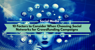 Social Networks for Crowdfunding Campaigns