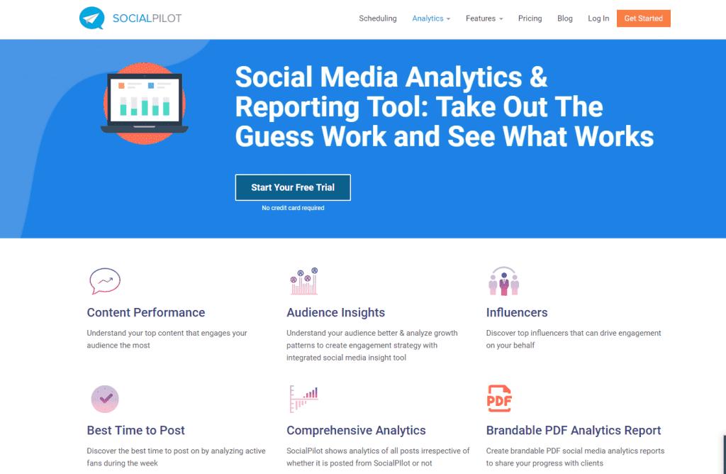 Social Pilot - Best Automation For Social Media Tool