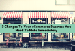 3 Changes To Your eCommerce Business You Need To Make Immediately