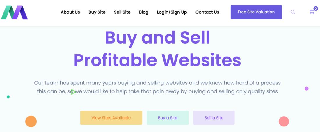 MotionInvest Website brokerage company