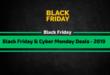 BlackFriday & CyberMonday 2019 Deals