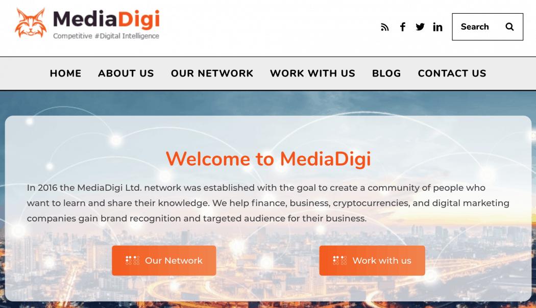 MediaDigi Network of Digital Brands