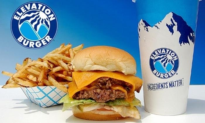 Elevation burger Franchise