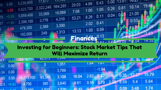 Investing for Beginners: Stock Market Tips That Will Maximize Return