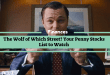 The Wolf of Which Street? Your Penny Stocks List to Watch