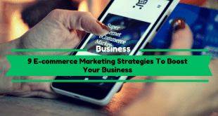 E-commerce Marketing Strategies