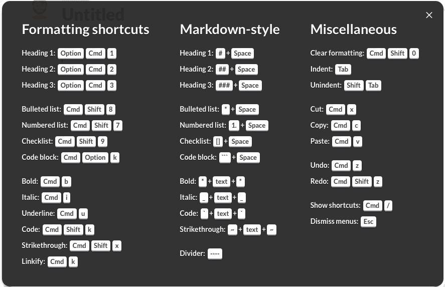 Slack Shortcuts 3