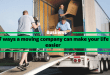 7 ways a moving company can make your life easier