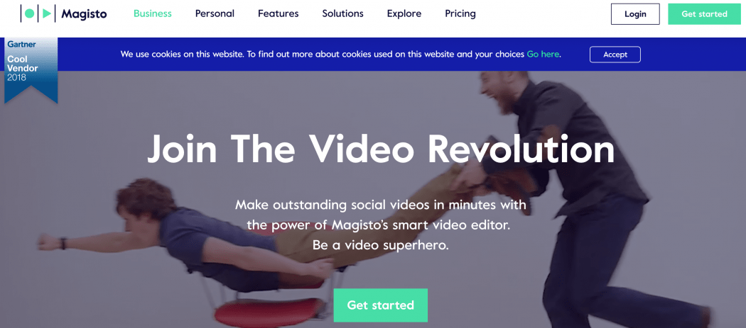 Magistro - this video editing software can be used to upload videos and photos, which are then analyzed by artificial intelligence programs to provide suggestions