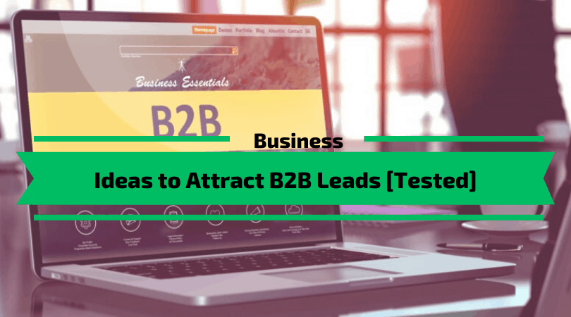 Ideas to Attract B2B Leads