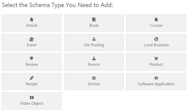WP Schema Pro Plugin - Add Schema Types