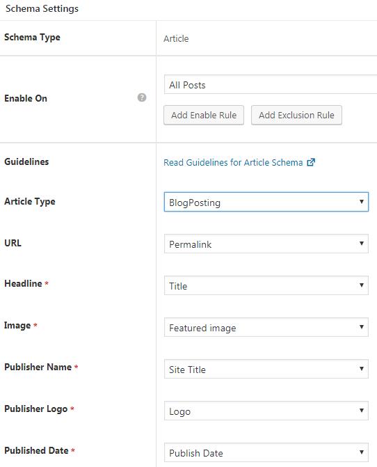 WP Schema Pro Plugin - Edit Schema Type