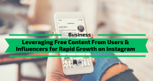 Leveraging Free Content From Users & Influencers for Rapid Growth on Instagram