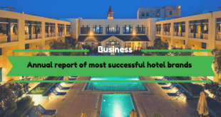 Annual report of most successful hotel brands