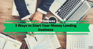 Start Your Money Lending business