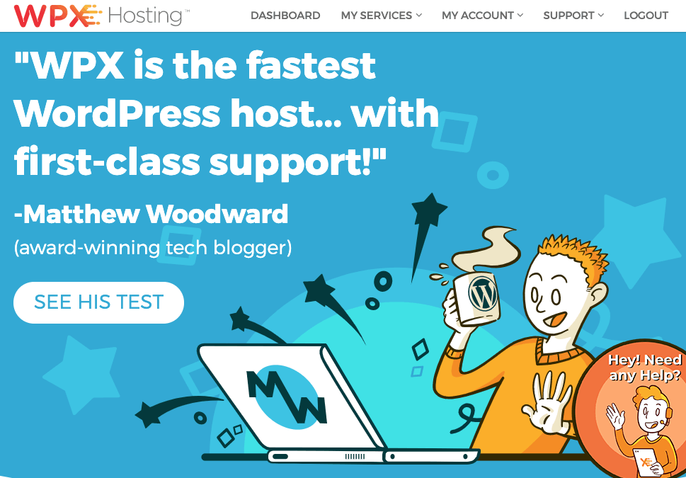 WPXHosting – 50% First Month Discount