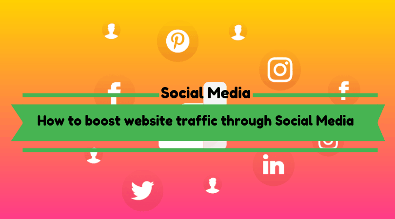 How to boost website traffic through Social Media
