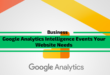 9 Google Analytics Intelligence Events Your Website Needs