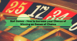 How to Increase your Chance of Winning on Games of Chance