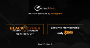 OutreachBuzz BlackFriday Lifetime Deal