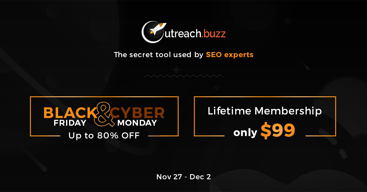 OutreachBuzz – $99 Lifetime deal