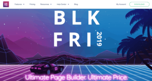 Elementor discount - Black Friday 2019