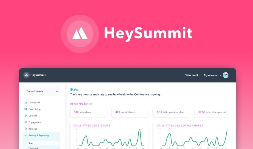 HeySummit – 3 months for $99