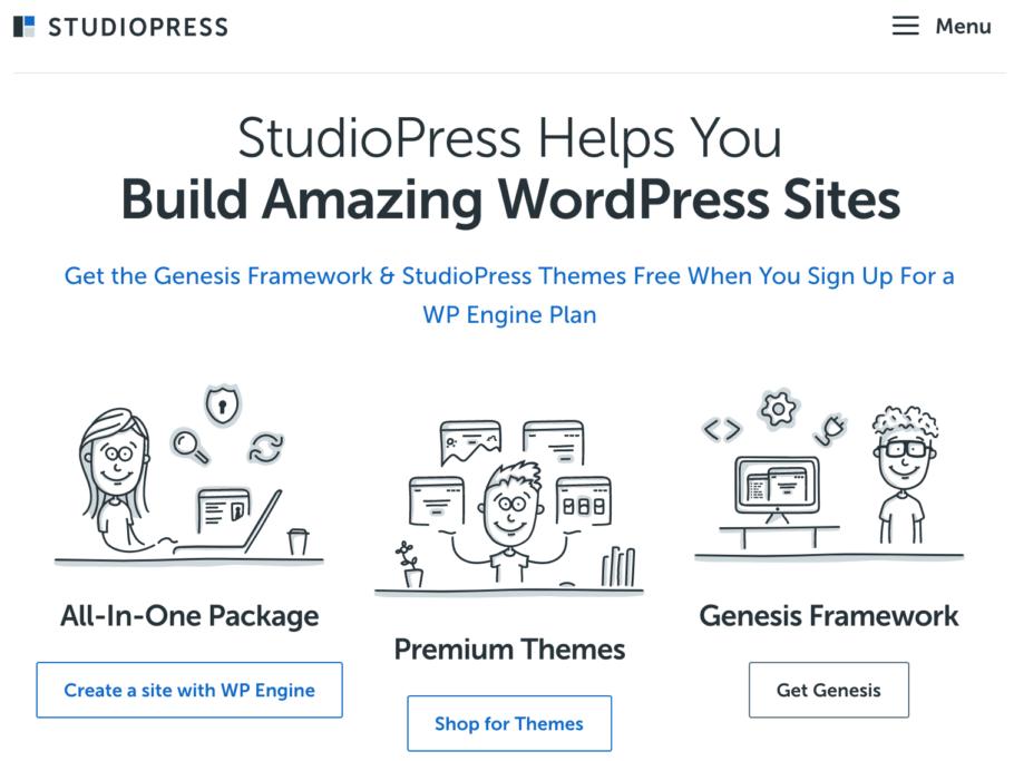 StudioPress – $100 discount