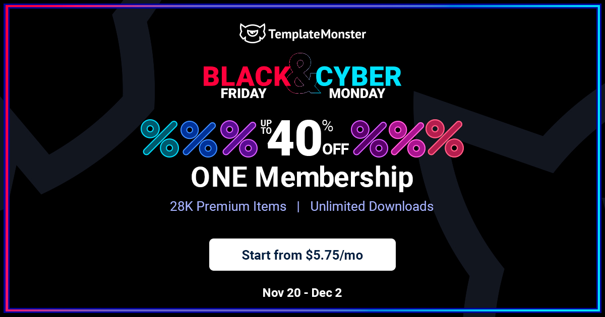 Template Monster Deal – Up to 70% discount