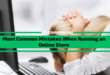 Most Common Mistakes When Running an Online Store