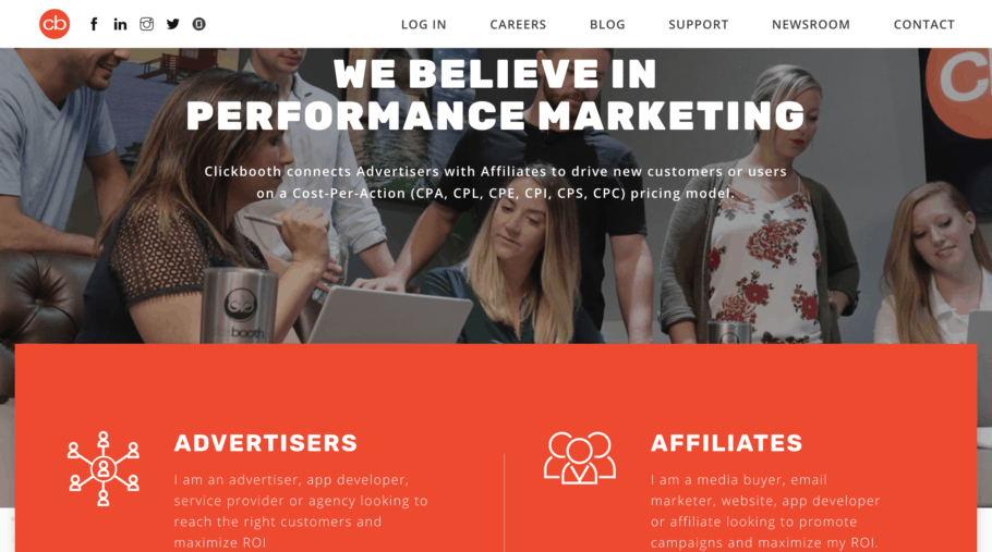 ClickBooth CPA Marketing Network