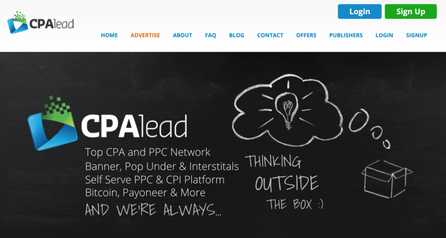 CPAlead CPA Marketing Network