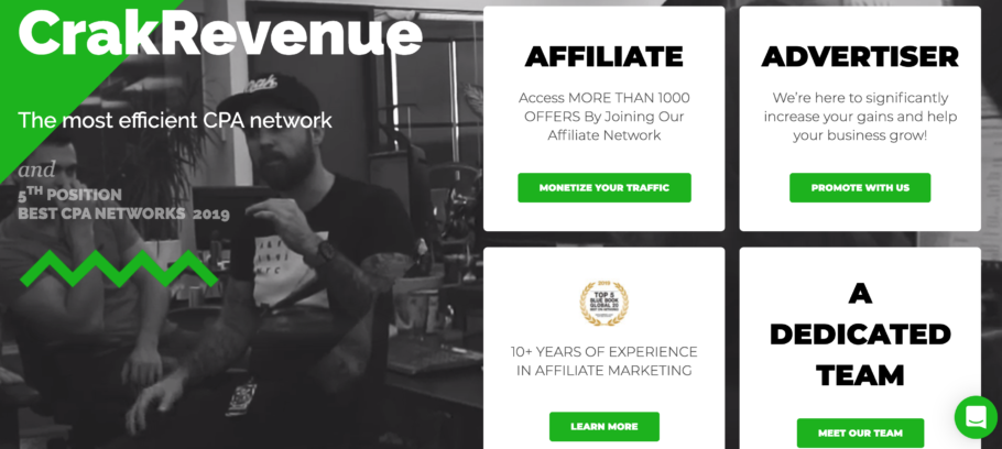 CrackRevenue CPA Network