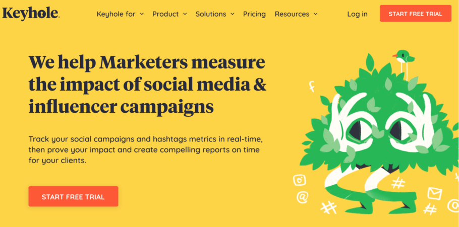 Keyhole - Social Media Analytics Tool